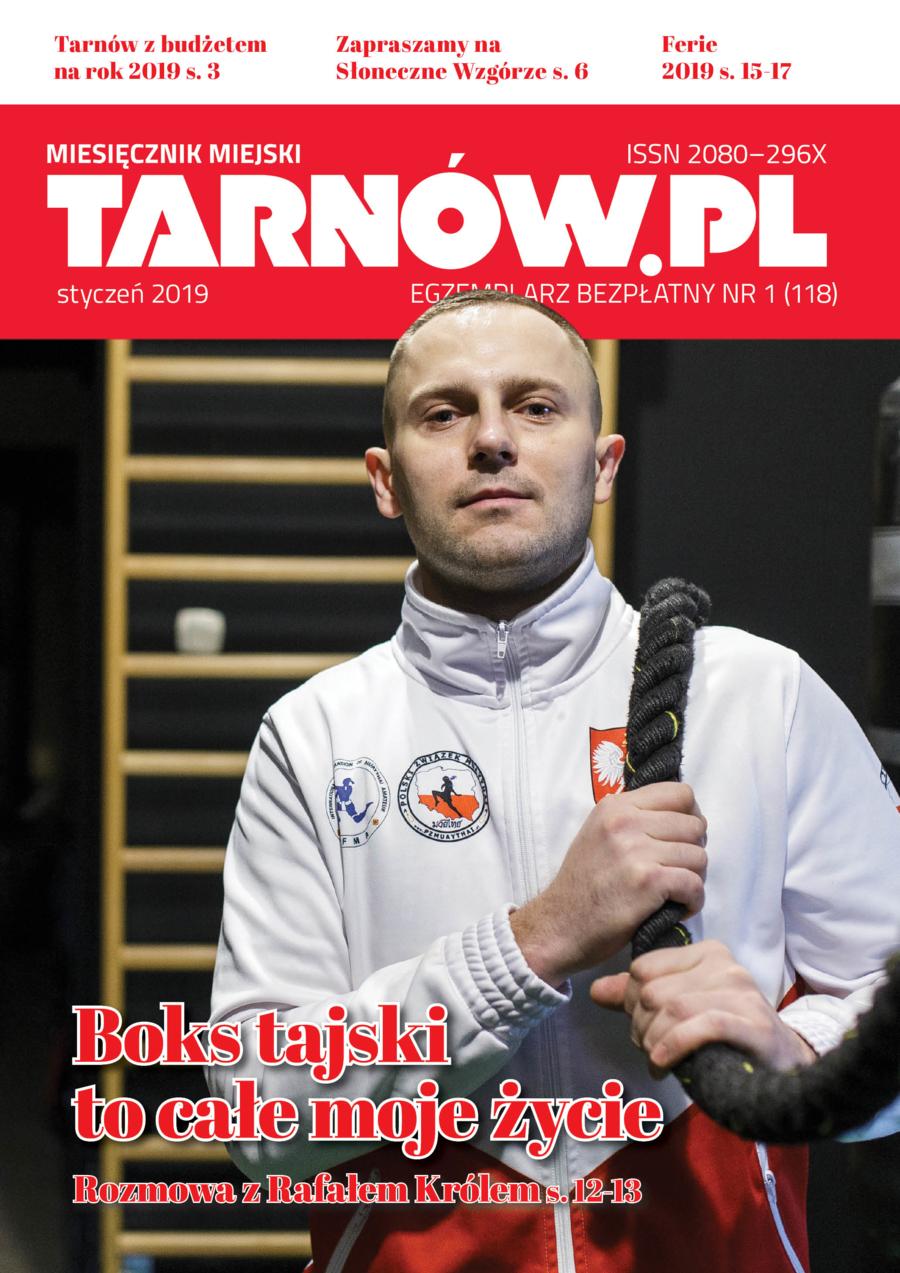 Okładka miesięcznika Tarnów.pl