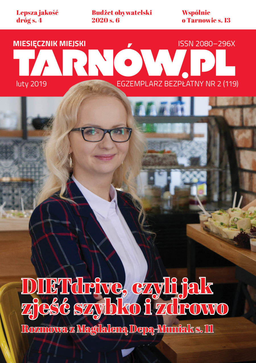 okładka - Tarnów.pl wydanie luty 2019