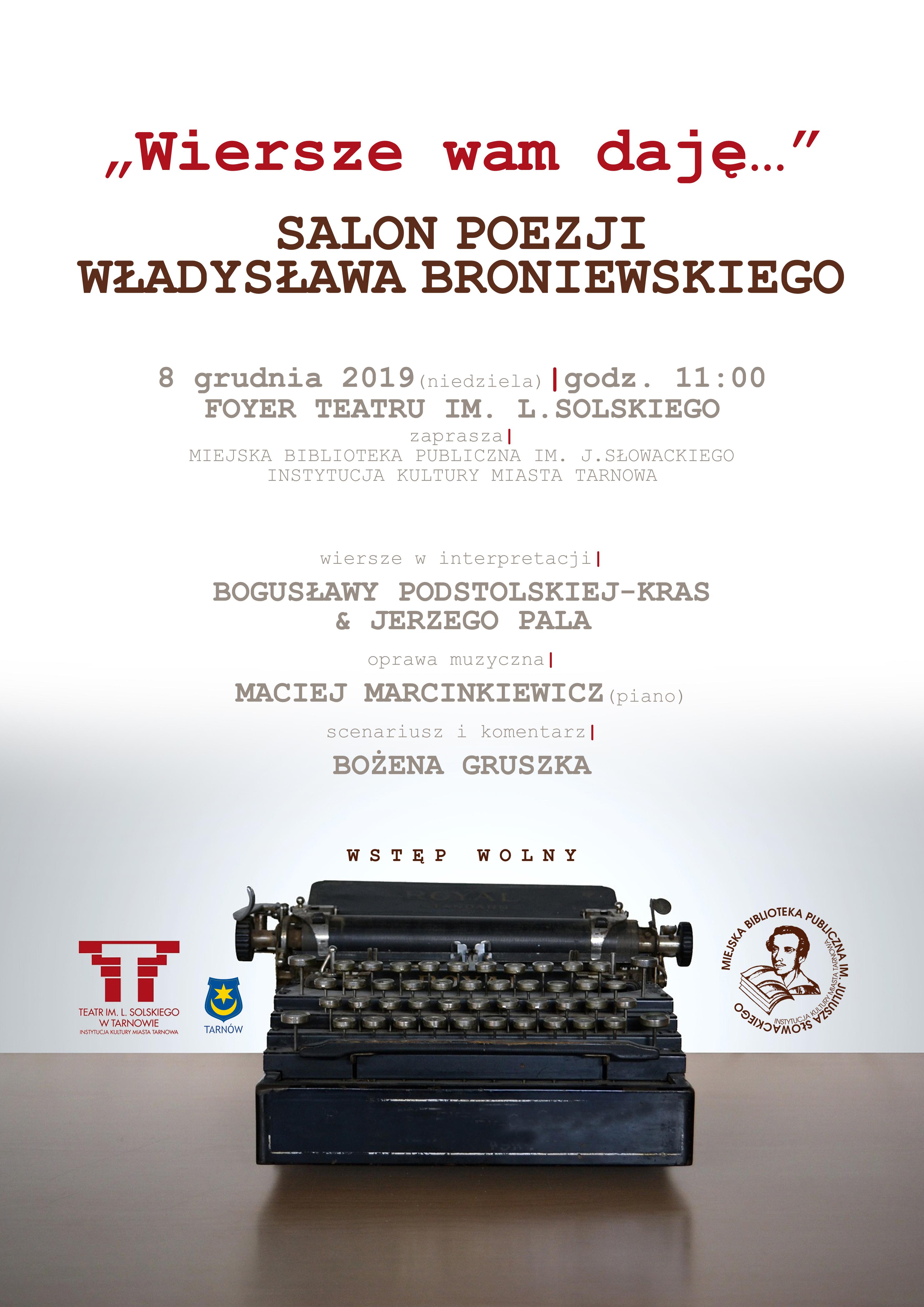 Wiersze Wam Daję Tarnów Polski Biegun Ciepła