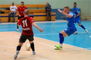 Mecz pierwszej ligi futsalu: Unia Tarnów - GKS Futsal Tychy
