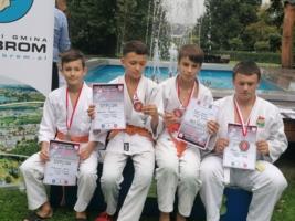 Judocy Błękitnych Tarnów, medaliści z Wolbromia