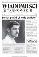 Okładka Wiadomości Tarnowskie listopad 2018