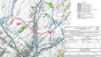 Planowany przebieg wschodniej obwodnicy Tarnowa