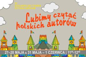 Plakat Lubimy czytać polskich autorów
