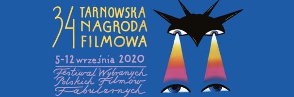 Plakat 34. Tarnowskiej Nagrody Filmowej