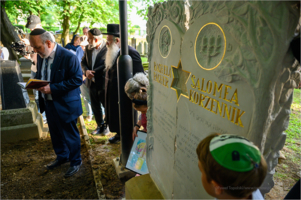 Cmentarz Żydowski - pogrzeb ofiar Holokaustu,  Salomei Korzennik i Racheli Pacher