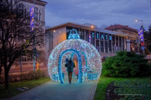Tarnowskie iluminacje świąteczne