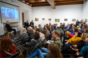 Galeria TCK - Tadeusz Rolke, wernisaż wystawy TAM I Z POWROTEM