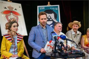 """Konferencja prasowa przed premierą spektaklu ,,Księżniczka na opak wywrócona"""""""
