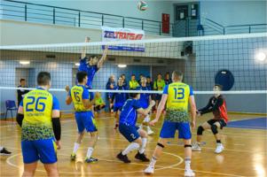 Mecz siatkówki mężczyzn: MUKS Iskierka Tarnów - Orzeł Ciężkowice