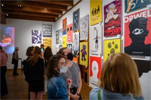 TCK - wystawa: Konfrontacje Plakatu Studenckiego