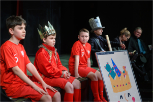"""Konferencja prasowa przed premierą spektaklu ,,Król Maciuś Pierwszy"""""""