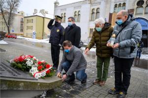 76. rocznica wyzwolenia obozu Auschwitz-Birkenau