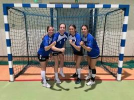 Cztery piłkarki ręczne MKS Pałac Młodzieży reprezentują Małopolskę w finałach Ogólnopolskiej Olimpiady Młodzieży