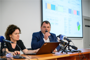 Konferencja - prezentacja projektu Parku Wodnego