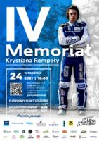 Plakat Memoriału Krystiana Rempały