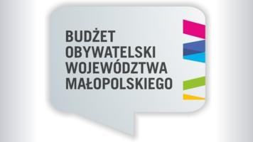 Plakat Budżetu Obywatelskiego Województwa Małopolskiego