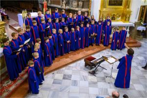 Katedra - występ chóru Linköpings Boys Choir ze Szwecji