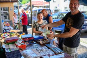 Bazar na tarnowskiej Starówce
