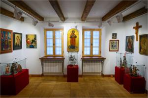 """Muzeum Etnograficzne - wystawa prac pt. """"Dawna sztuka i przedmioty sakralne"""""""