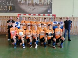 Pierwsza drużyna młodzików MKS Pałac Młodzieży Tarnów