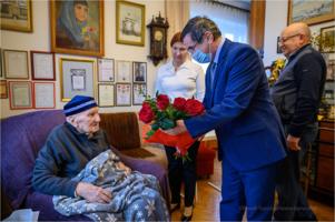 Setne urodziny pułkownika Mieczysława Korczaka