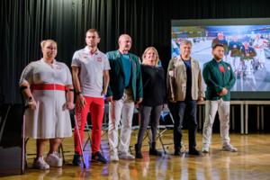 Spotkanie młodzieży z tarnowskimi paraolimpijczykami