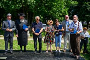 Rekonsekracja cmentarza żydowskiego po renowacji