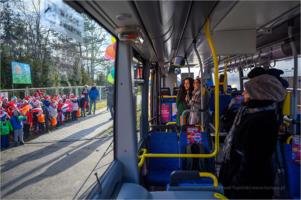 """Śpiewający autobus - inauguracja festiwalu ,,Mała Talia"""""""