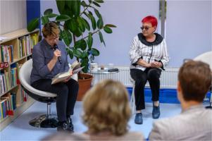 Spotkanie autorskie z Krystyną Gucewicz oraz z Krystyną Czubówną