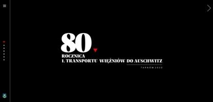 Strona 1. transportu więźniów do Auschwitz