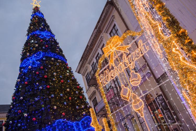 Iluminacje świąteczne rozbłysną w Tarnowie