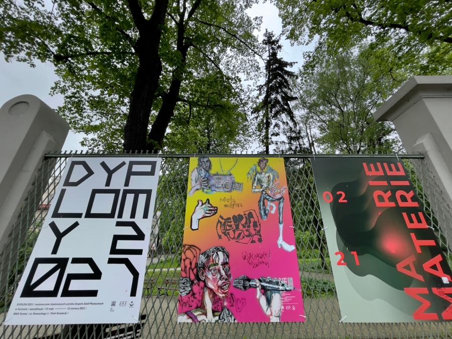 """Wystawa """"Dyplomy 2021"""""""