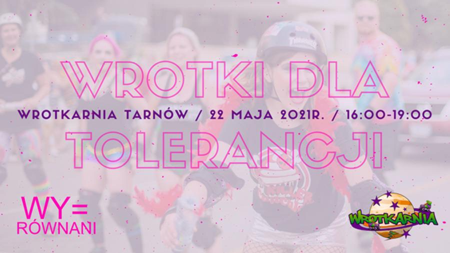 Plakat Wrotki dla tolerancji