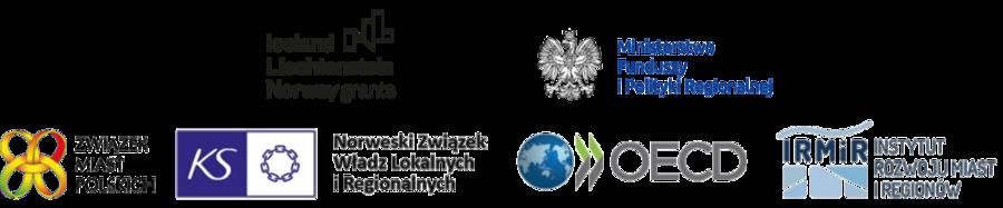 """Logotypy  programu """"Rozwój Lokalny"""""""