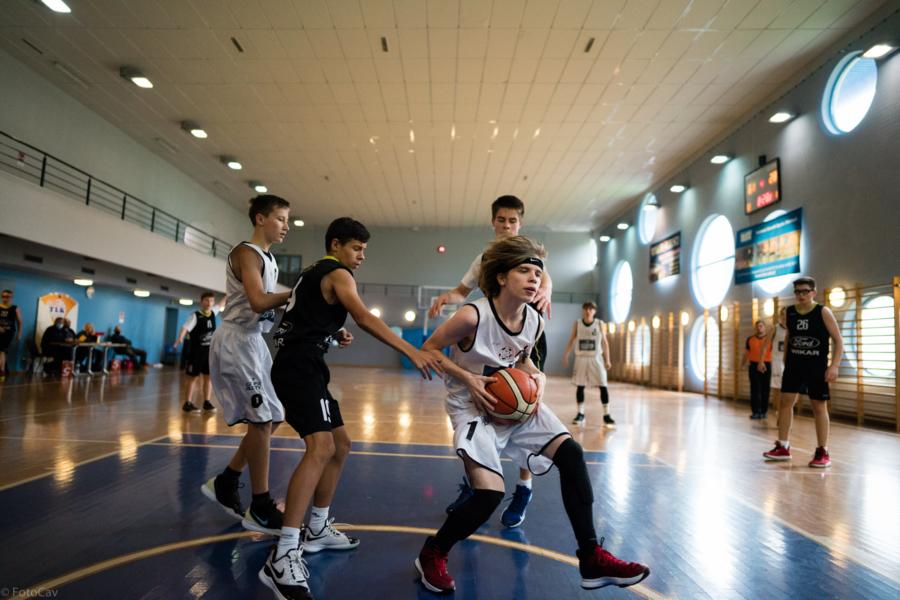 Mecz koszykówki młodzików: MUKS 1811 Unia Tarnów - STK Wikar Nowy Sącz
