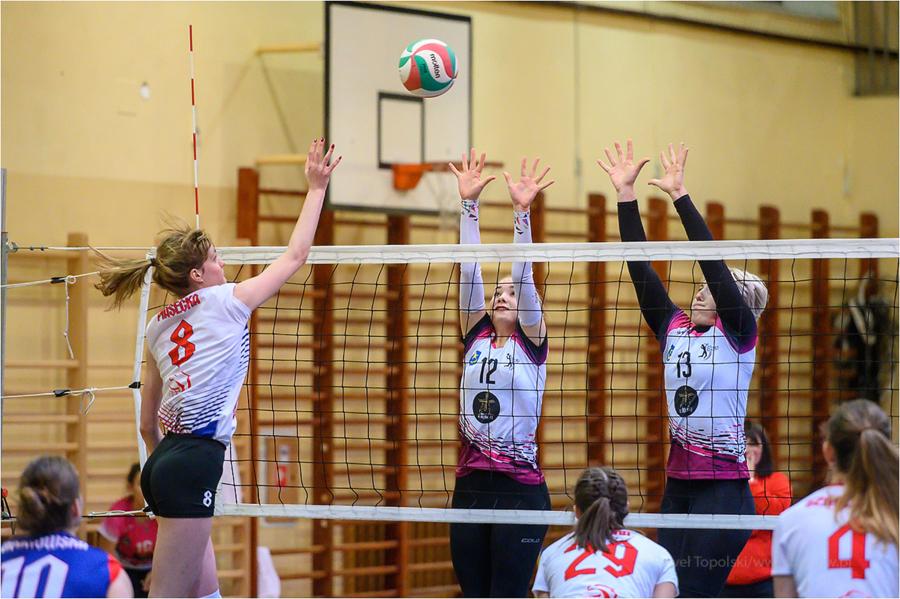 Mecz drugiej ligi siatkówki kobiet: UKS Jedynka <a href=