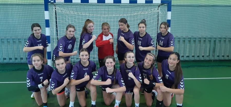 Młodziczki (piłkarki ręczne) MKS Pałac Młodzieży Tarnów