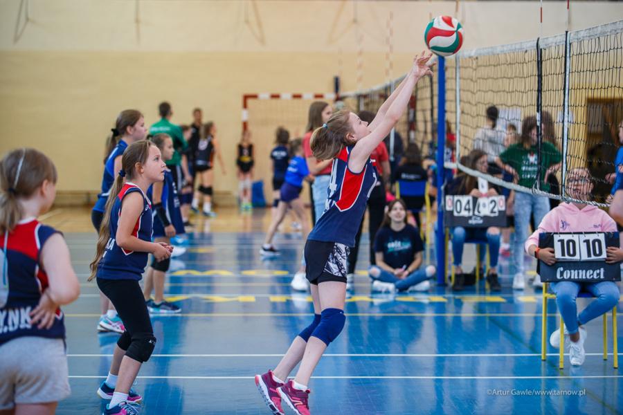 Turniej minisiatkówki dwójek