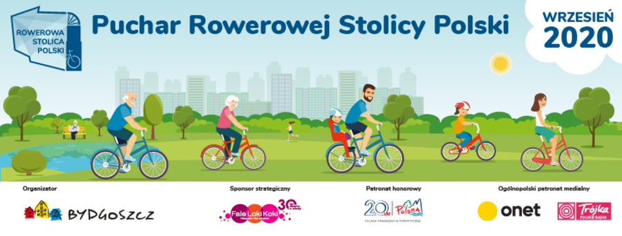 """Plakat """"Pucharu Rowerowej Stolicy Polski"""""""
