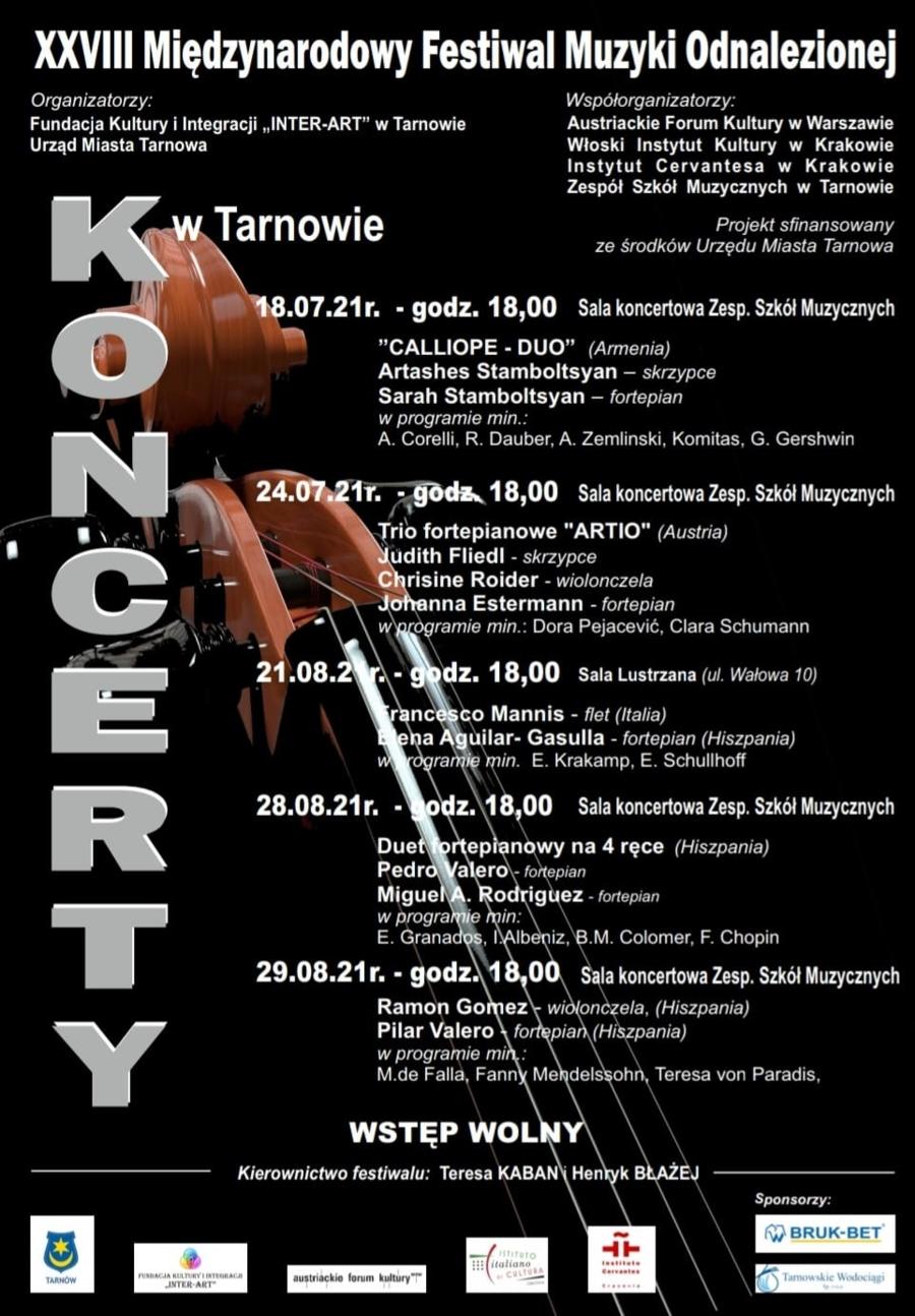 XXVIII Międzynarodowy Festiwal Muzyki Odnalezionej