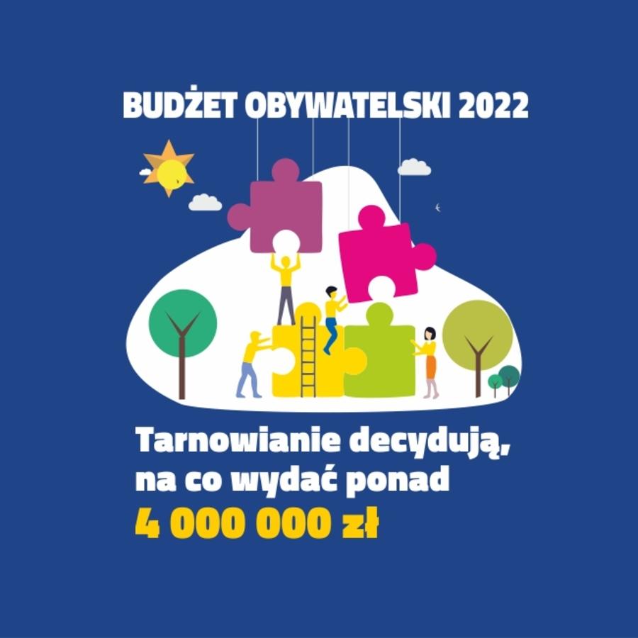 Plakat do Budżetu Obywatelskiego 2022